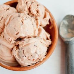Pumpkin Butter Pecan Ice Cream