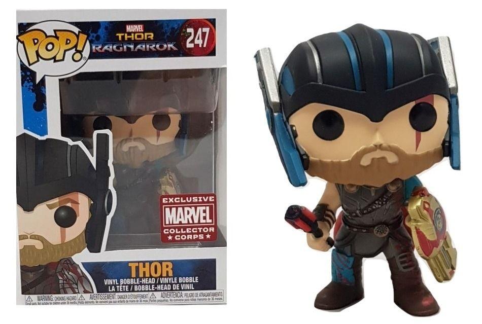 Funko Pop Thor Ragnarok Thor Exclusivo 247 Thor Funko Pop Munecos Pop
