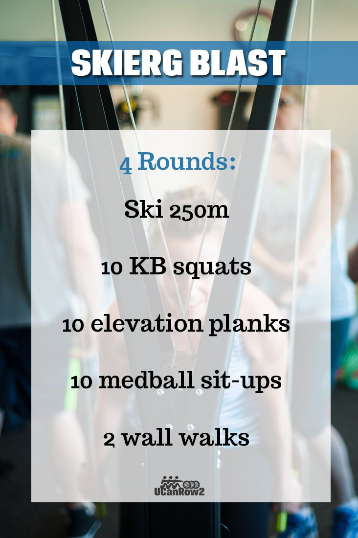 Looking for a lung-busting workout? The Concept2 SkiErg is always ready to provide. All UCanRow2 wor...