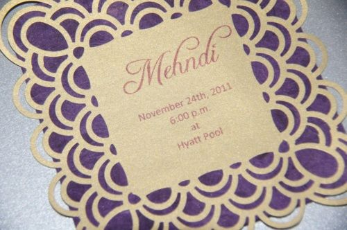 Mehndi Party Invites : Diy mehndi invites shaadi obsession! wedding pinterest