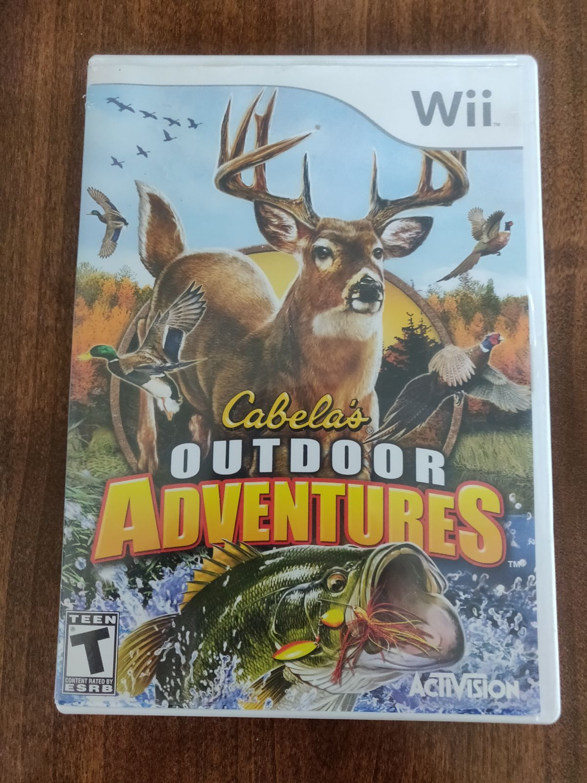 Cabelas outdoor adventures for the wii wii video games