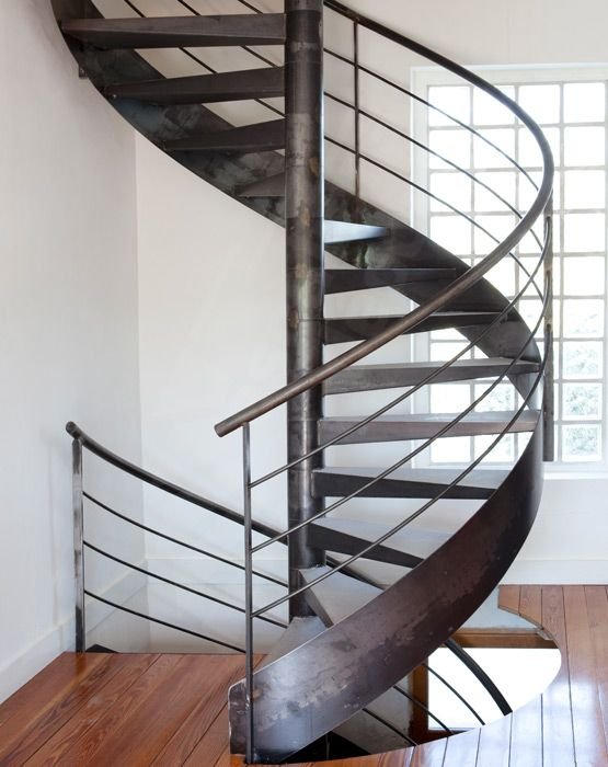 Photo s26 gamme initiale spir 39 d co contemporain - Escalier contemporain beton ...