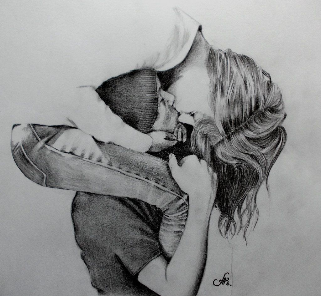 sketches of people hugging | long kisses by annakoutsidou traditional art drawings people 2013 2014 ...