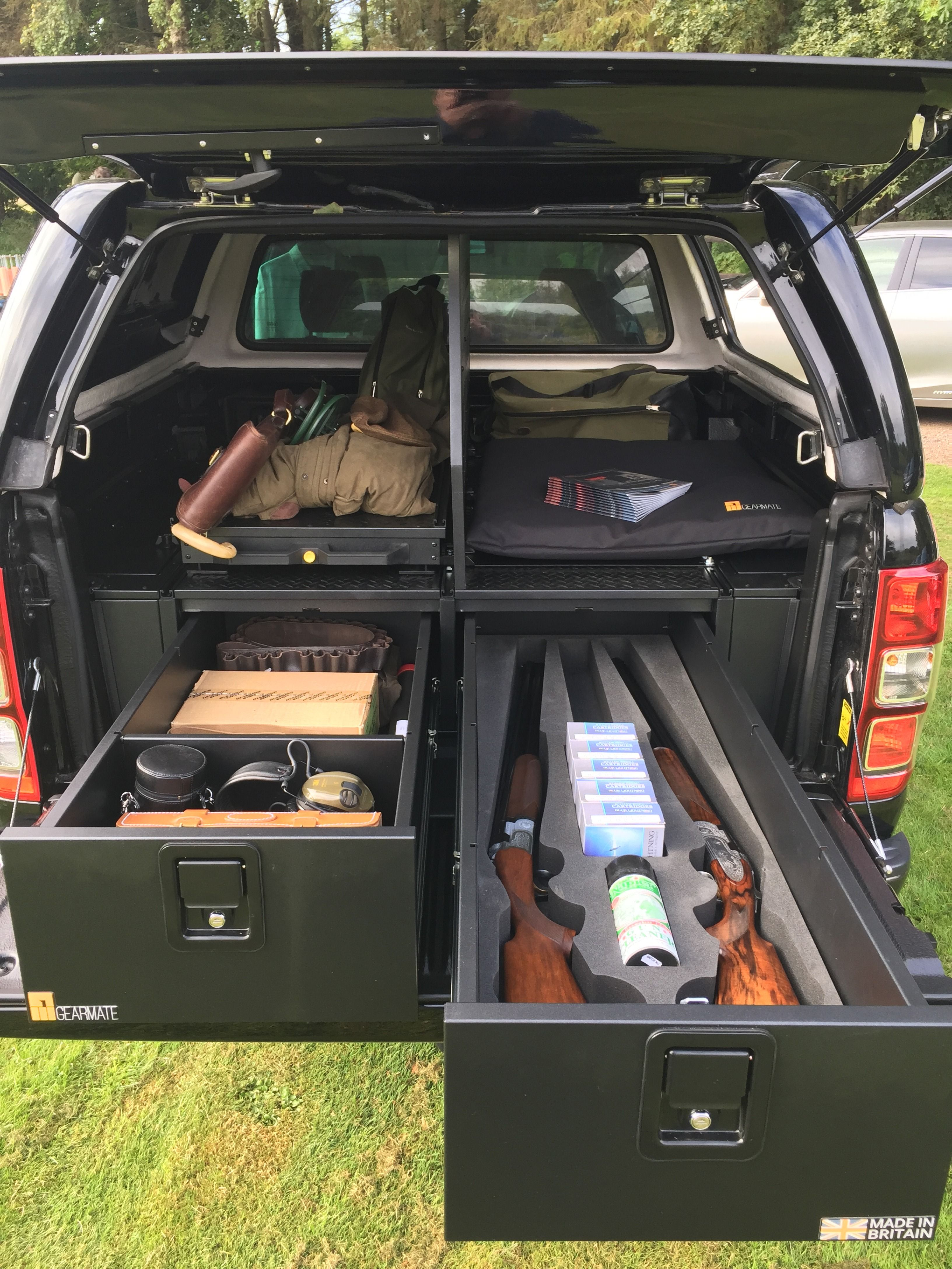 Ford Truck Bed Divider : truck, divider, Ranger, #gearmate, 226MM, Drawer,, Infill, Pods,, Tailgate, Flap,, Central, Divider, Narrow, Sli…, Pickup, Truck, Accessories,, Storage,