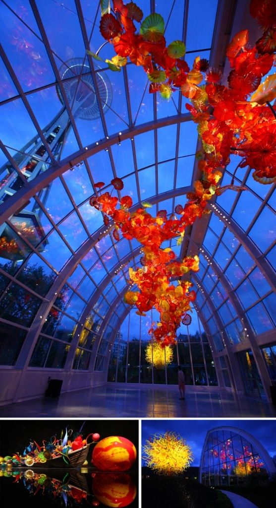 Photos A Peek Inside The Chihuly Garden And Glass Museum Glass Museum Glass Art Glass Art Sculpture