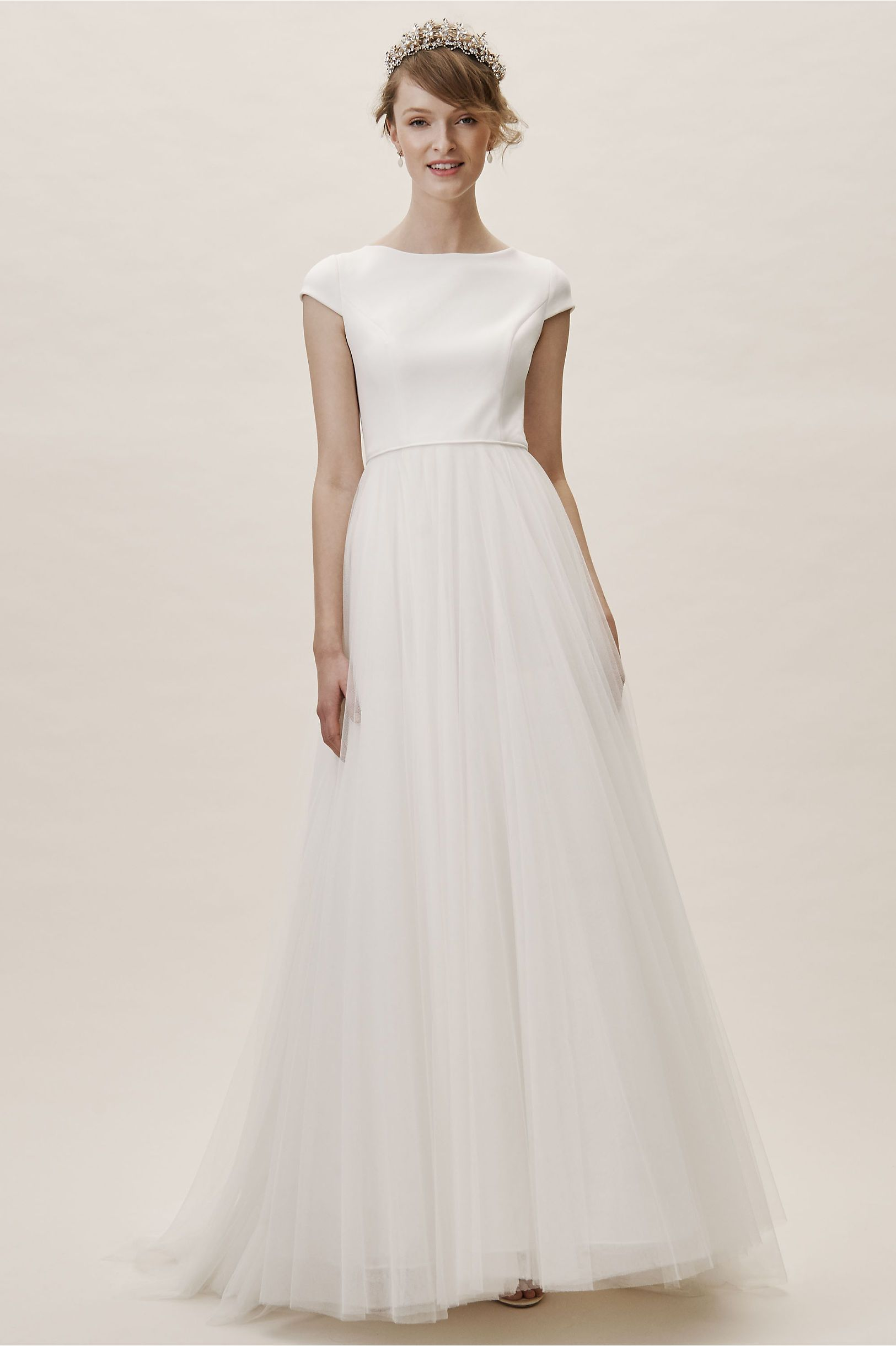 823cfd0d14fe0 BHLDN s Jenny Yoo Fitzwater Gown in Ivory in 2019