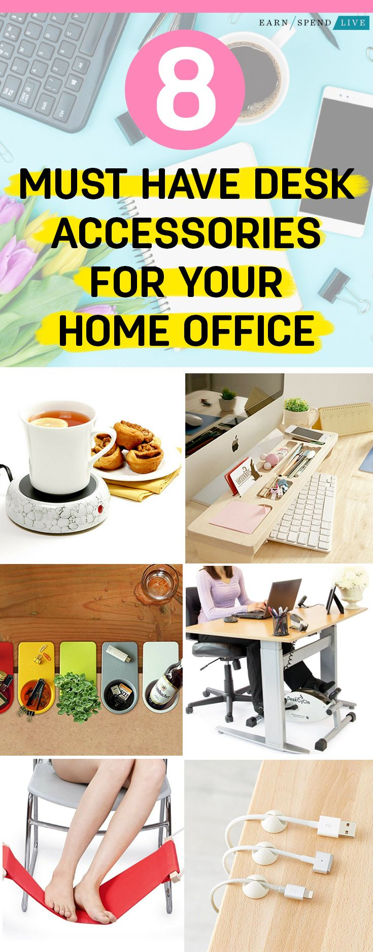 Must Have Desk Accessories For Your Home Office With Images