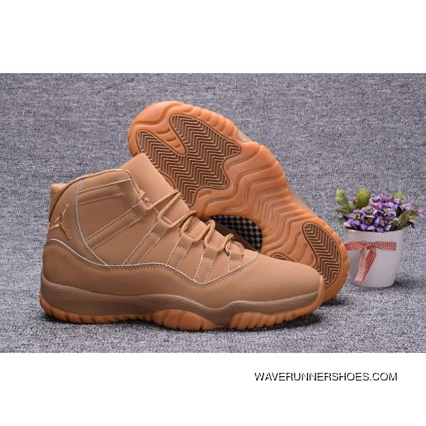 5fd6e5b33f08 Air Jordan 11 Wheat Ginger Gum Yellow Top Deals in 2019