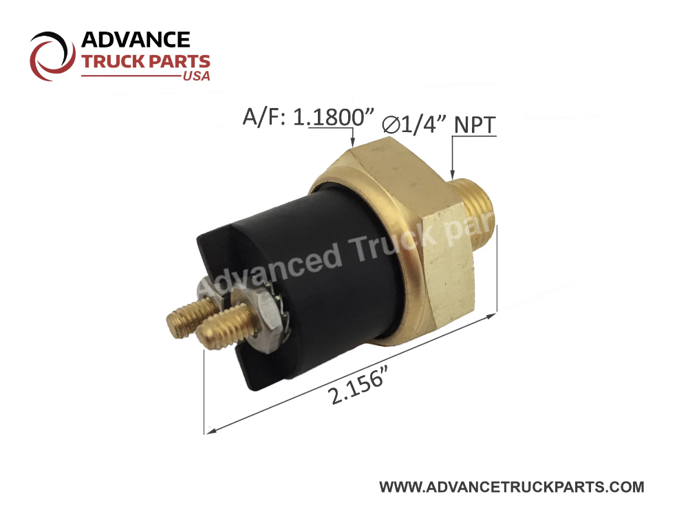 Advance Truck Parts 25158791 Low Pressure Switch For Mack Volvo Truck Parts Volvo Stop Light
