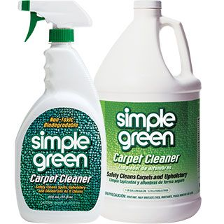 Simple Green Carpet Cleaner Professional Strength Formula Deodorizes As It Deep Cleans Simplegreen