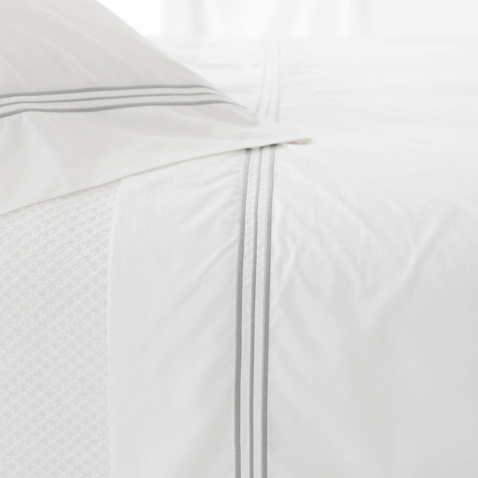 Trio thread count cotton flat sheet products pinterest