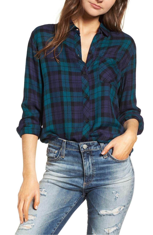 Hunter Plaid Shirt by Rails