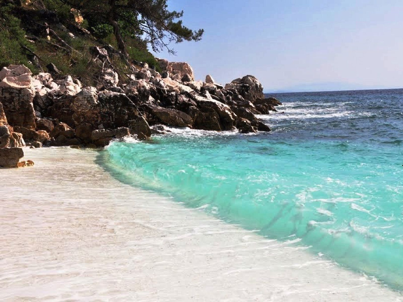 Greek Island Beaches: Blue Ocean For More Pictures Visit Http://a-sea-of-luxury