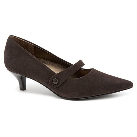 Trotters Petra | Women's - Dark Brown/Kid Suede/Pearlized Patent Man Made