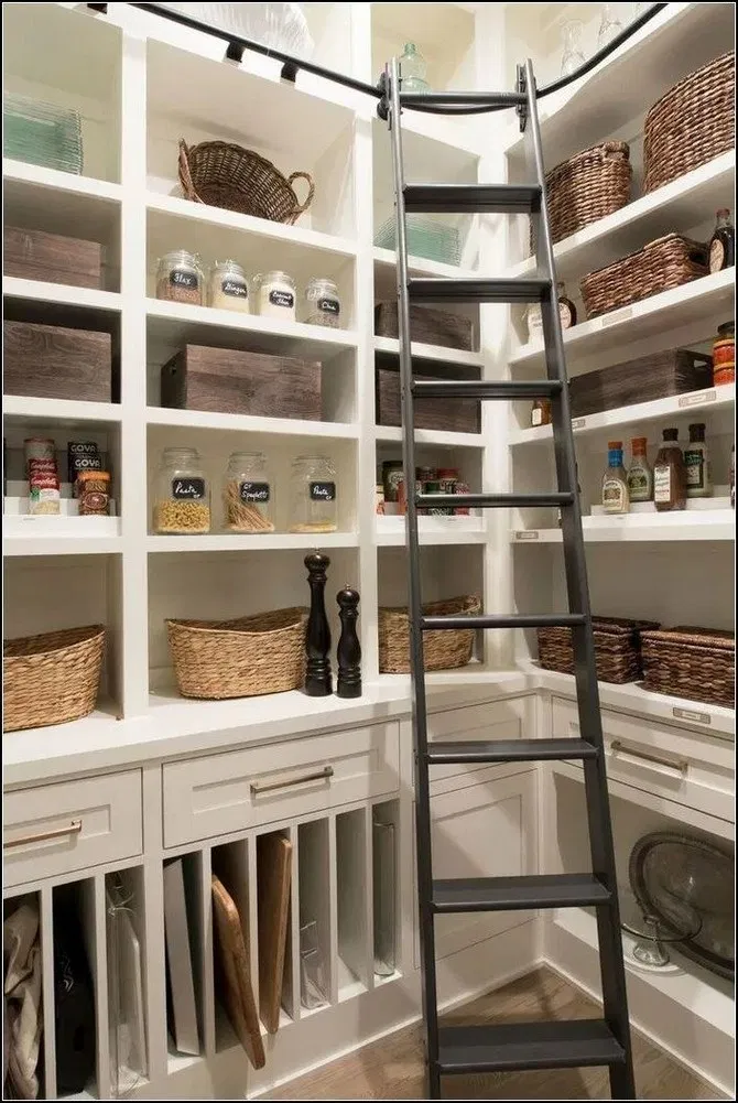 120+ mind-blowing kitchen pantry design ideas for your inspiration 5 ~ mantulgan.me #kitchenpantrydesign