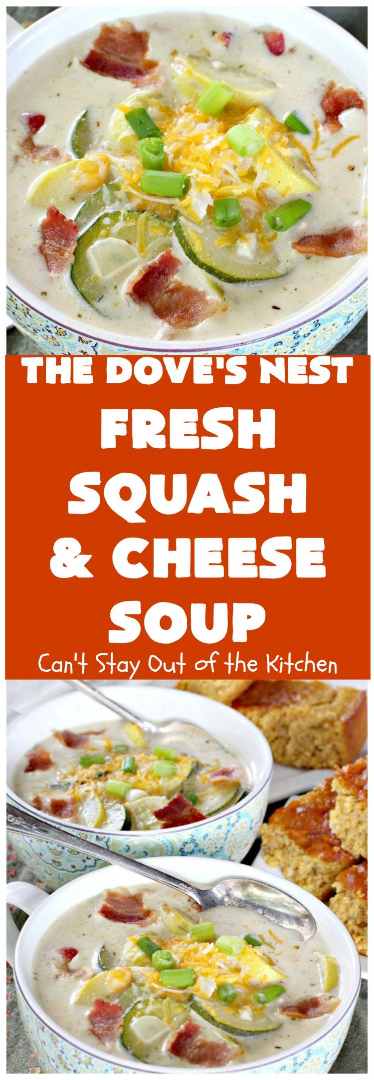 The Dove's Nest Fresh Squash & Cheese Soup | Can't…