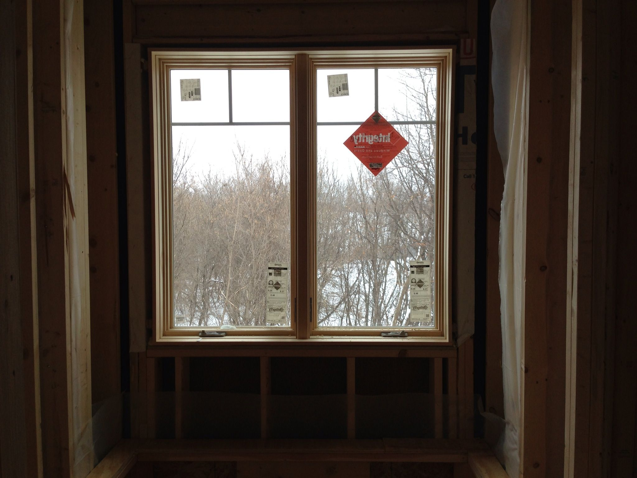 Our custom made, one of a kind, Marvin Integrity windows.