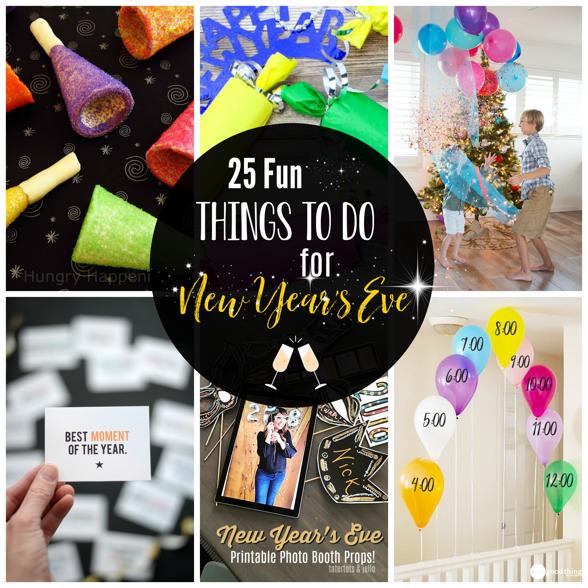 Fun Things To Do For New Year S Eve With Kids Kids New Years Eve