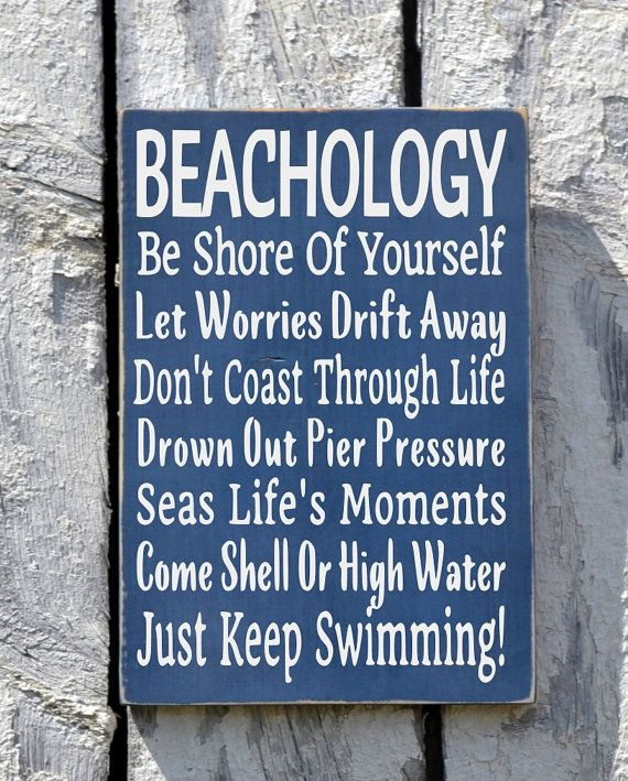 Beach Sign Decor Enchanting Beach Sign Decor Beachology New Unique Beach House Plaque Coastal Decorating Design