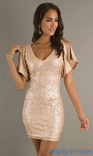 @Kaila Cote Bacon & @Samantha Flanders     Loooove these dresses! Maybe sequined bridesmaids dresses?