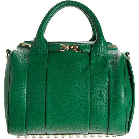 Alexander Rockie Duffel Kelly Green Handbag
