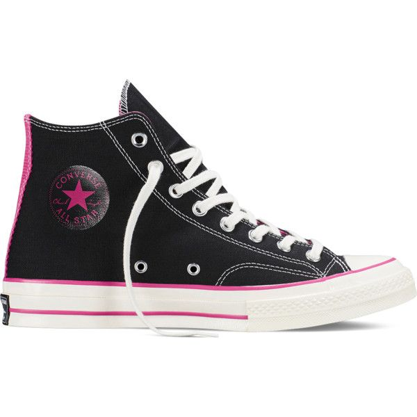ef4a5d6c9bdb4a Converse Chuck Taylor All Star ˜70 – black pink Sneakers ( 60) ❤ liked on  Polyvore featuring shoes