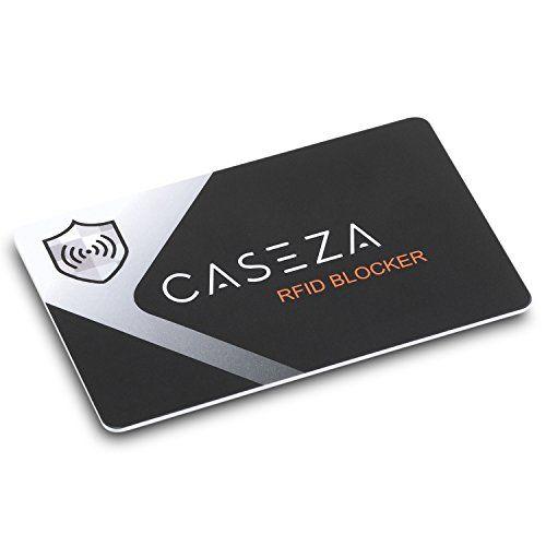 Rfid Karte.Rfid Blocker Karte Caseza Rfid Nfc Schutz Blocking Card Mit