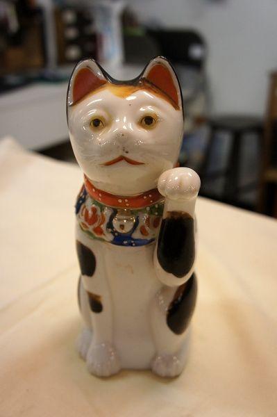 陶器の招き猫(楽天) - アンティークマーケット吹上