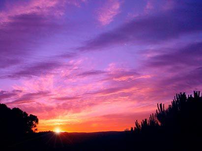 Coucher de soleil aquarelle pinterest couchers de - Coucher de soleil dessin ...