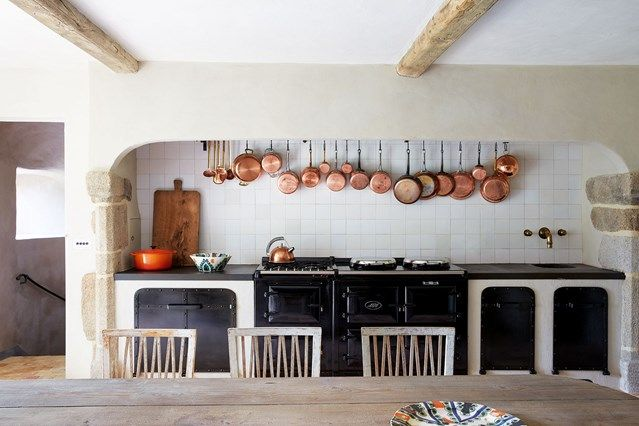 modern country kitchen with black aga in kitchen design ideas  a modern country kitchen with modern country kitchen with black aga in kitchen design ideas  a      rh   pinterest com