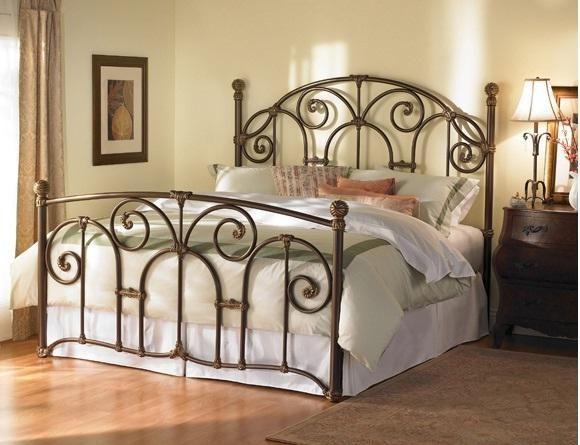 Best Cornell Queen Size Bed Iron Beds Wesley Allen Simple 640 x 480