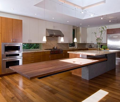 5 Creative Ideas For Kitchen Islands In 2020 Custom Kitchen Island Kitchen Island Design Contemporary Kitchen