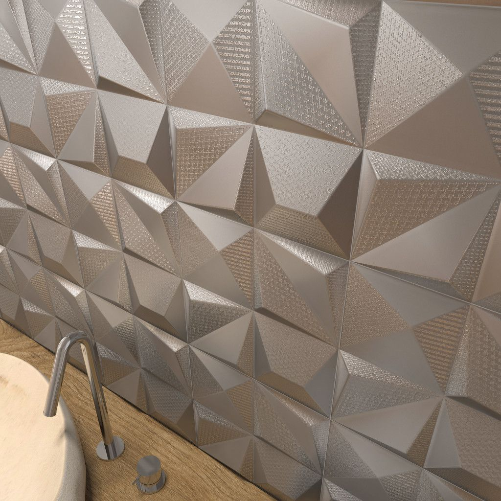Spanish Decorative Wall Tiles Dune  Shapes  Dimensional Tile Part Of The Tile Of Spain Quick