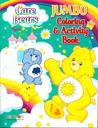 Care Bears Jumbo Coloring Activity Book Funshine And Grumpy 96 Pages By Bendon Publishing International Inc 4 Coloring Books Color Activities Book Activities