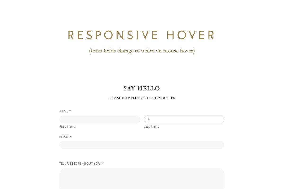 Squarespace Minimal Form Plugin Sponsored Sponsored Style Plugin Current Form Business Card Template Word Minimal Form First Names