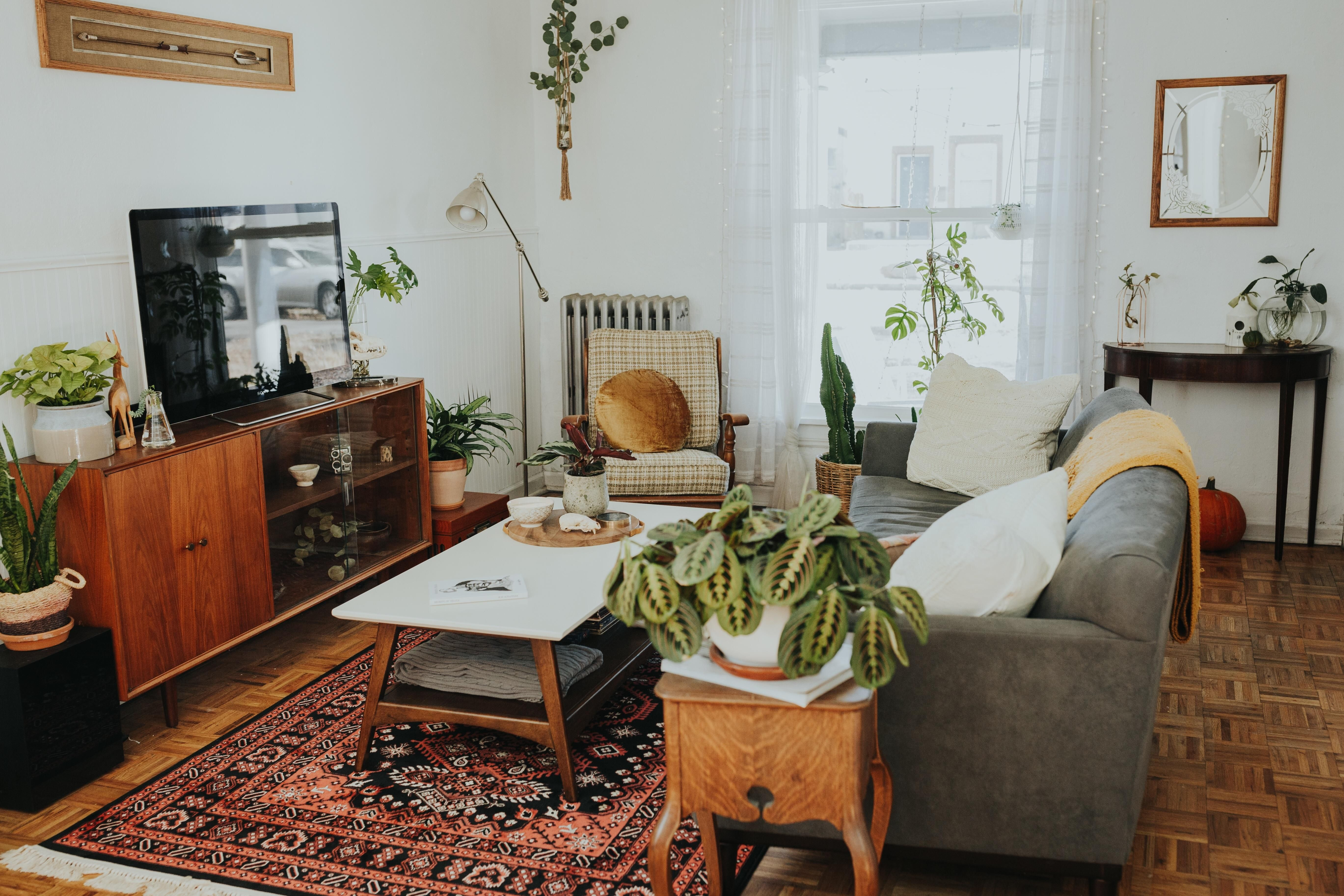 31+ Dorable Eclectic Living Room | Eclectic living room, Cheap ...