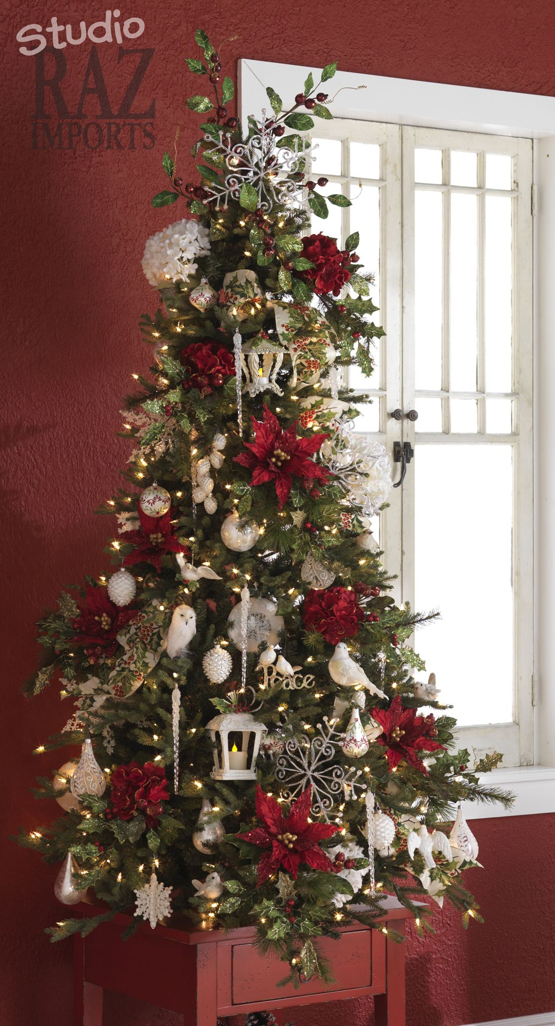 2008 Christmas Tree | Christmas tree colour scheme