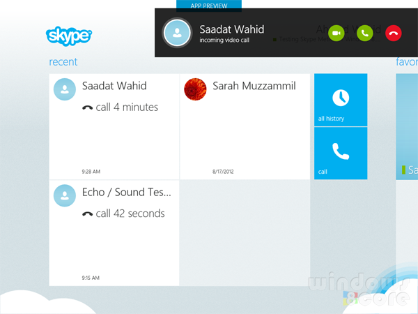 Skype app for Windows 8 is now available in Store for
