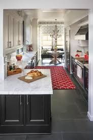 Image Result For Beautiful New England Kitchen Grey Doors White Top Kitchen Layout Galley Kitchen Design Galley Kitchen Remodel