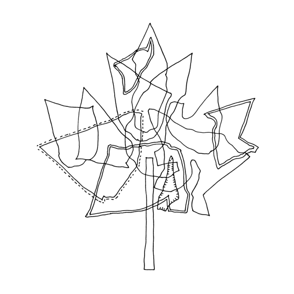 Free Canadian Maple Leaf Colouring Page by Donald Lee | Canadian ...