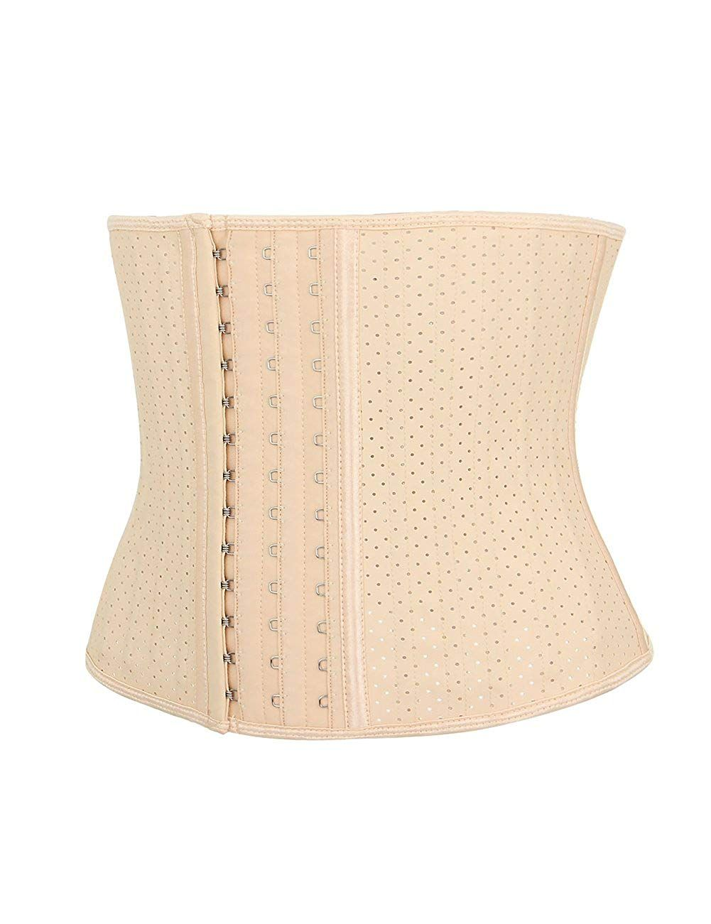 710d465160a Lover-Beauty Women s Latex Short Torso Waist Trainer Corset Training Shaper  at Amazon Women s Clothing store
