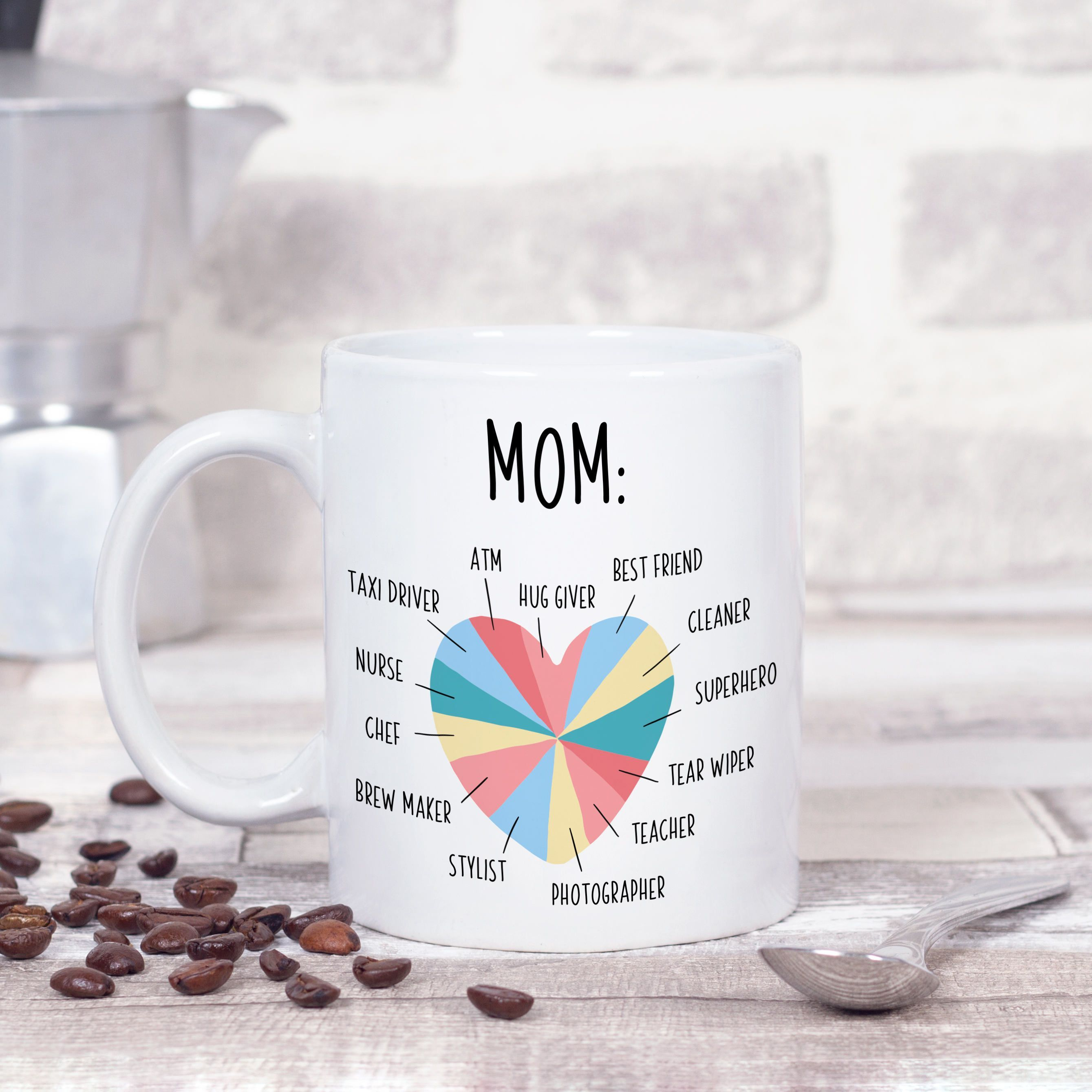 Mom Gift, Mom Mug, Birthday Gift for Mom from Daughter