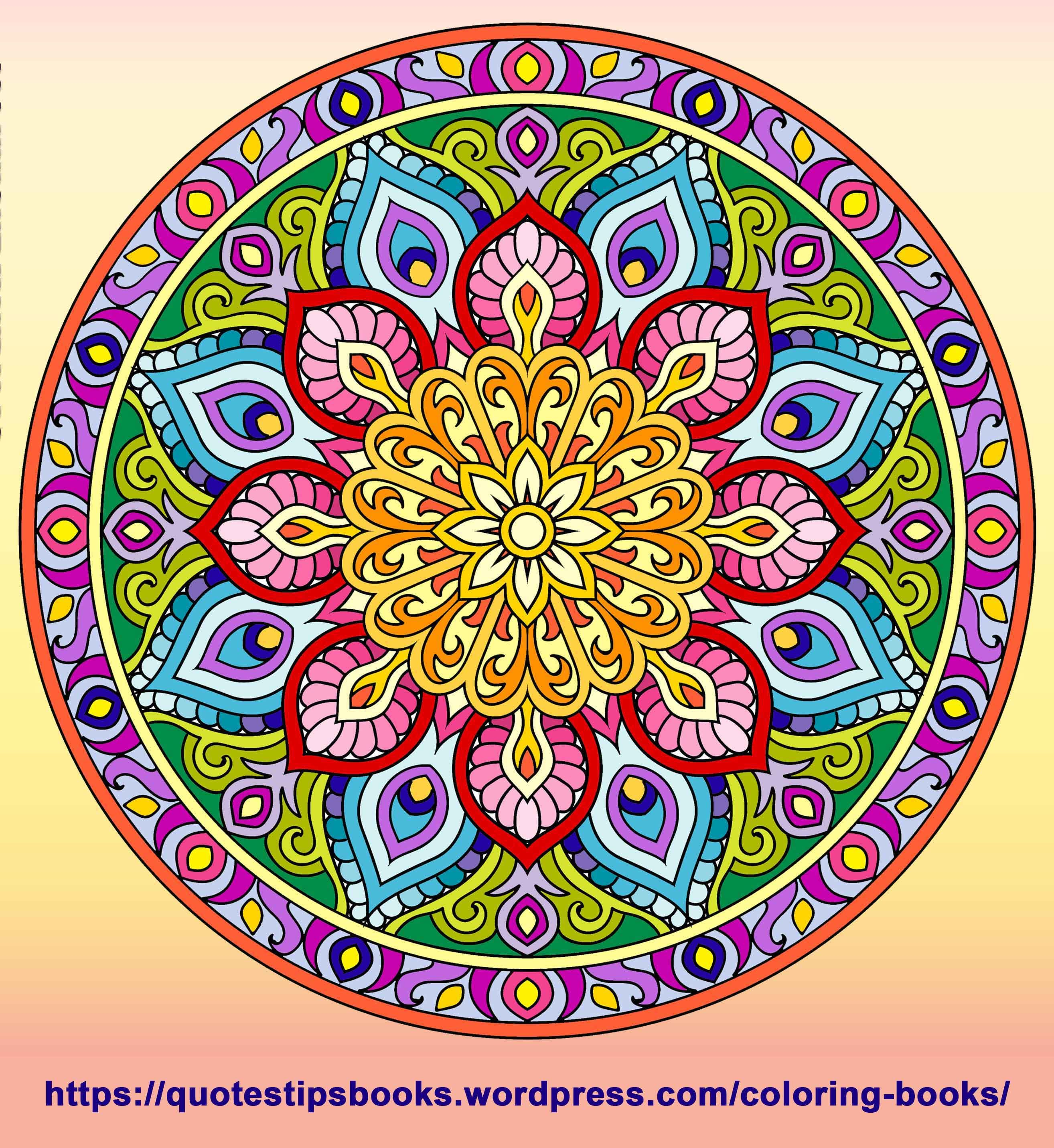 Coloring Books Mandala Coloring Books Mandala Coloring Coloring Books