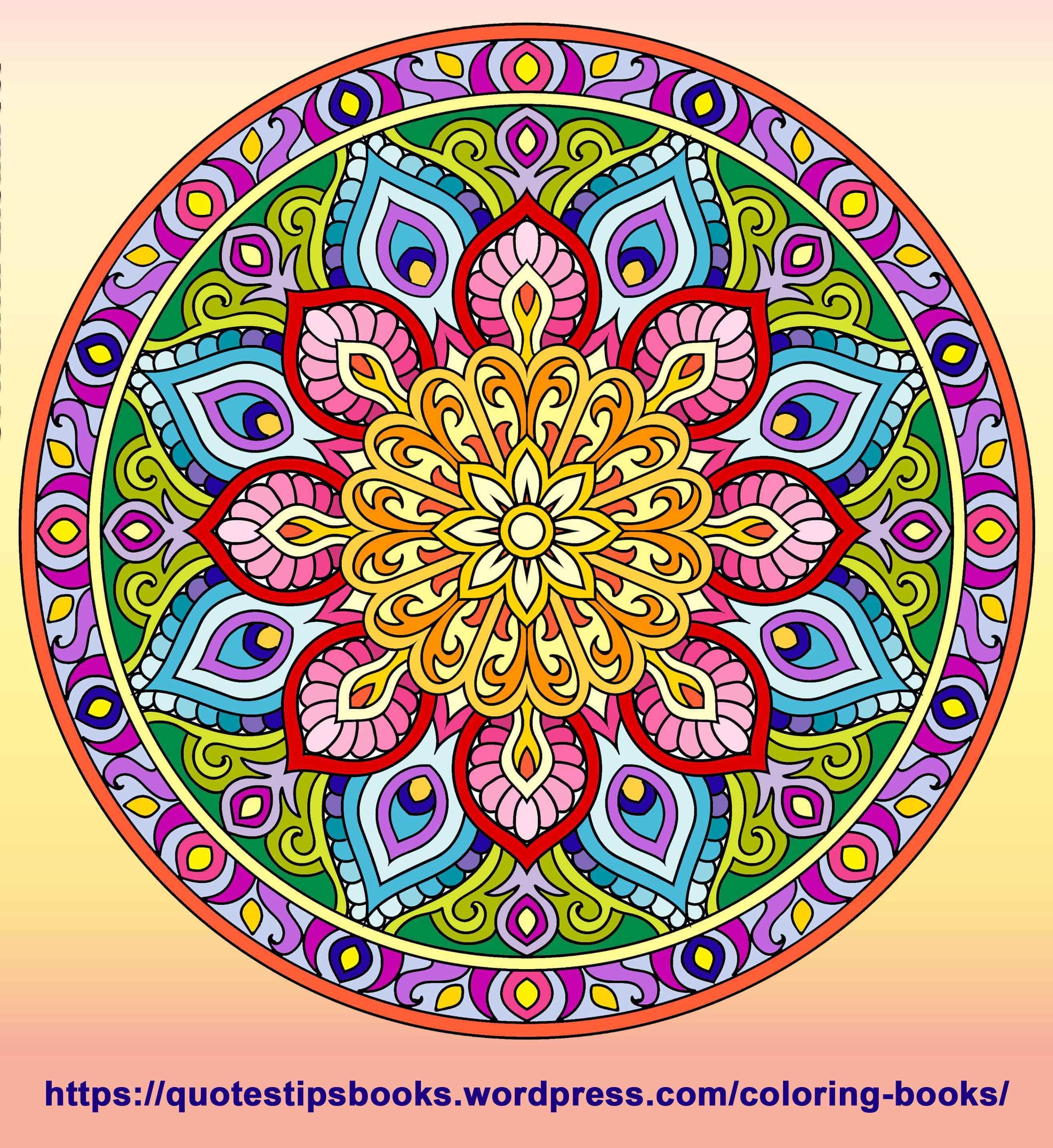 101 Unique Mandalas Mandala Coloring Books Mandala Design Art Mandala