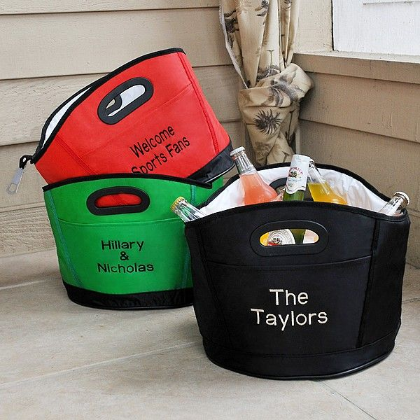 personalized soft sided party cooler bag with handles bottle openers and party gifts. Black Bedroom Furniture Sets. Home Design Ideas