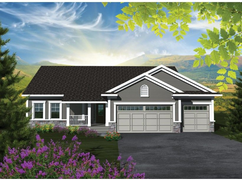 EPlans Craftsman House Plan U2013 Affordable But Spacious Craftsman Ranch U2013  1501 Square Feet And 3 Bedrooms From EPlans U2013 House Plan Code HWEPL76534