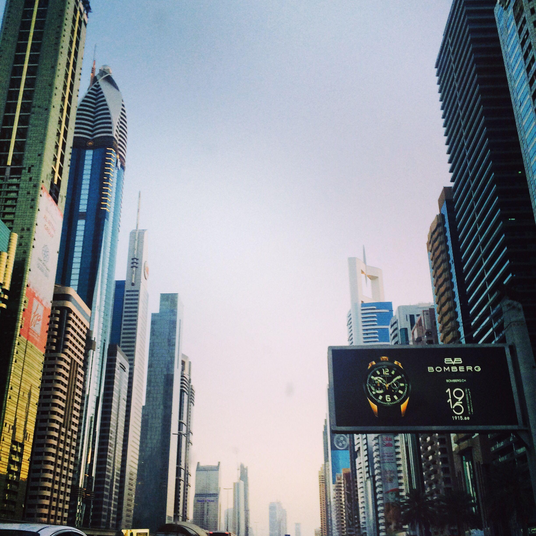 Uae Dubai شارع الشيخ زايد دبي