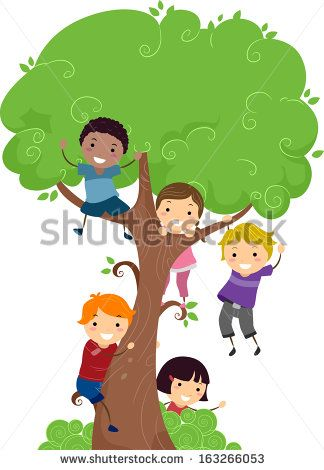 Image Result For Free Kids And Trees Clipart Storytime Decorations
