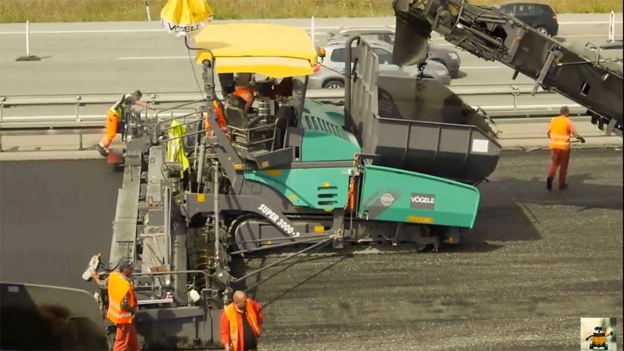 World Amazing Modern Road Construction Machines Road Construction Equipm Road Construction Construction Machines Construction Equipment
