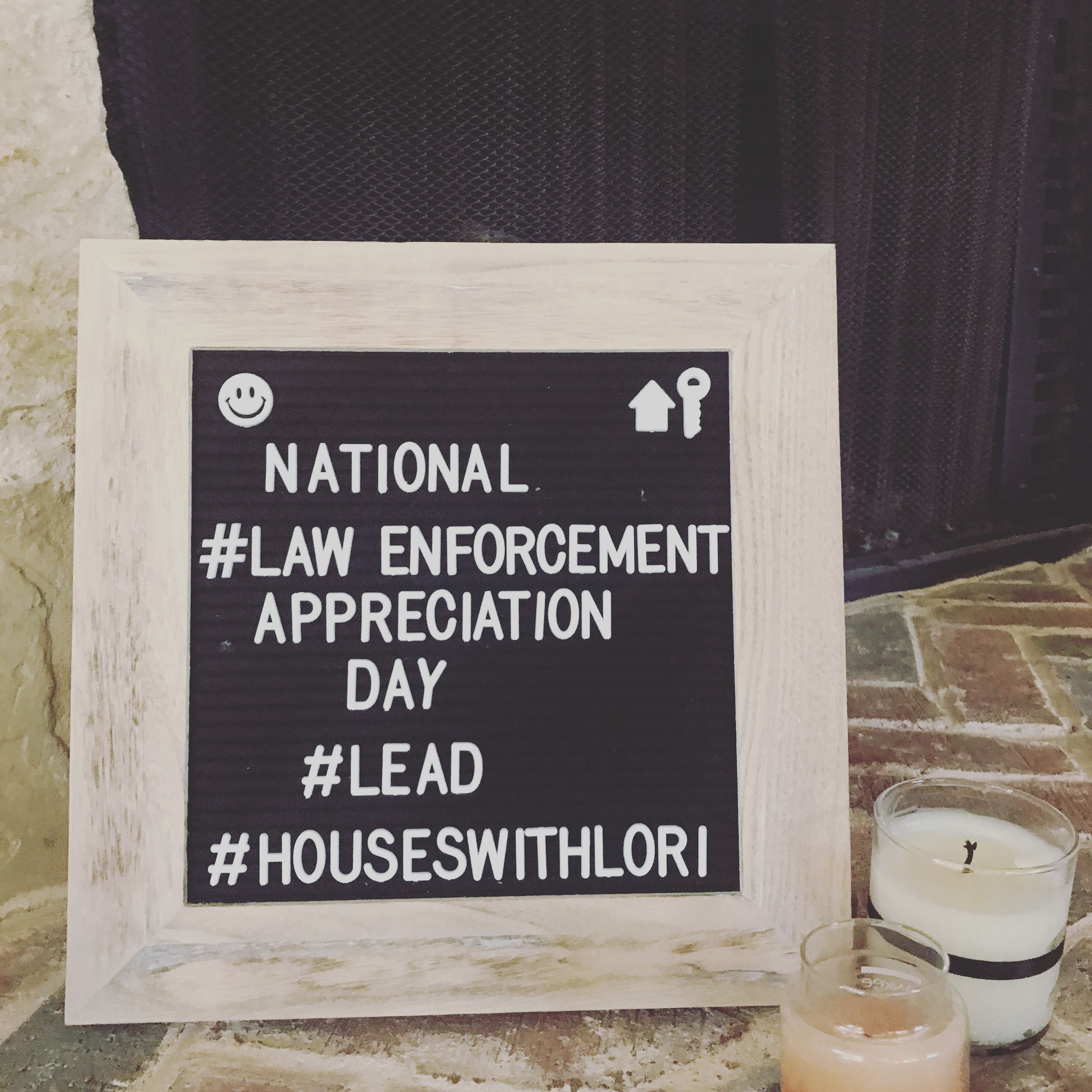 January 9 #nationallawenforcementdayquotes National Law Enforcement Appreciation Day - thank a police officer